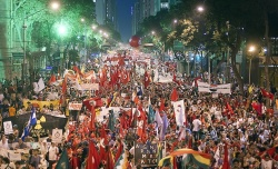 Rio+20 alternative protest